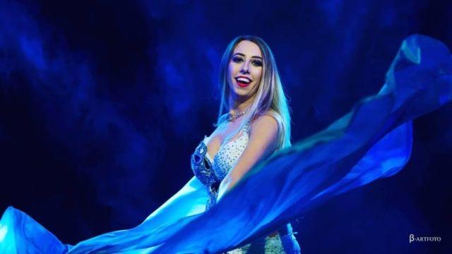 Pokaz tańca brzucha Warszawa Orientalinik 2019