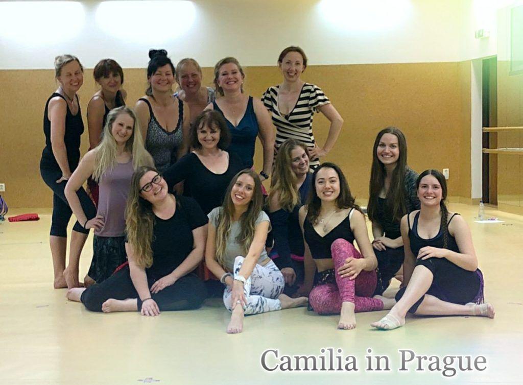 warsztaty taniec brzucha w Czechach